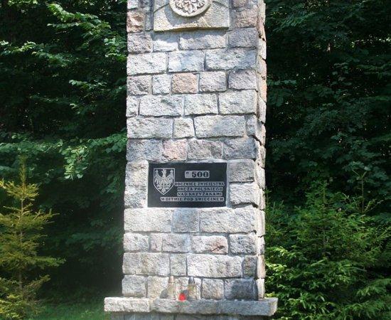 Świecino - miejsce bitwy średniowiecznej 17.IX. 1462